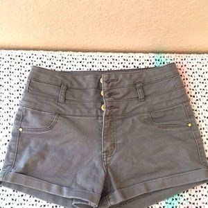 Women's  high wasted shorts